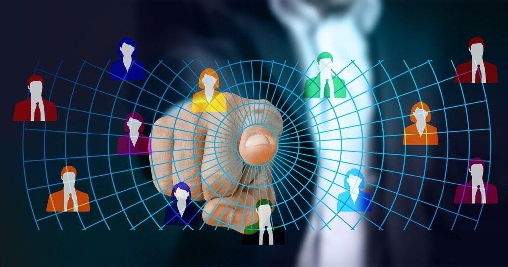 web, network, technology