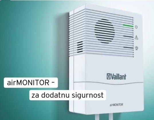 VAILLANT air MONITOR detektor plina